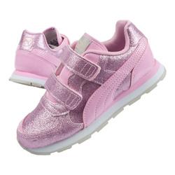 Buty sportowe dziecięce Puma Vista Glitz 369721 11