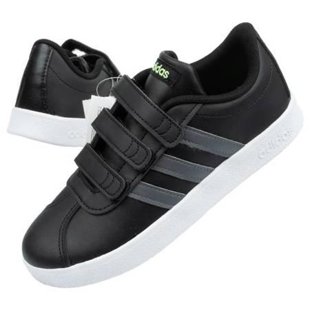Buty sportowe dziecięce ADIDAS VL COURT [F36387]