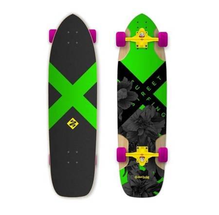 Deskorolka Street Surfing Freeride Longboard 36''